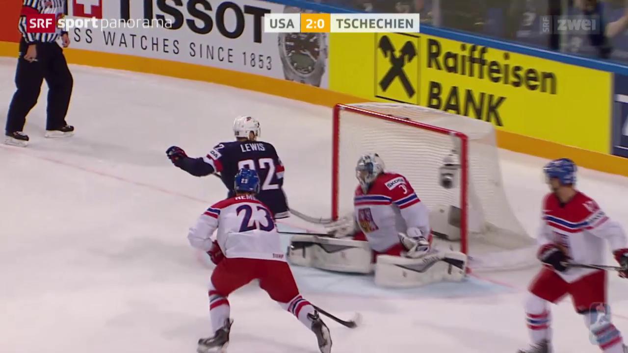 Eishockey: WM Prag, Spiel um Platz 3