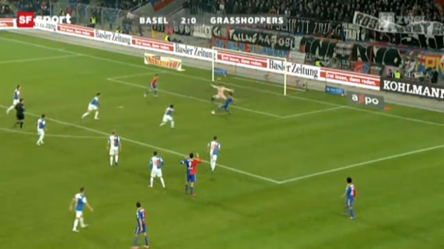 Video «SL: Basel - Grasshoppers» abspielen