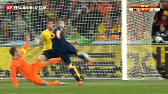 Final WM 2010: Spanien - Holland