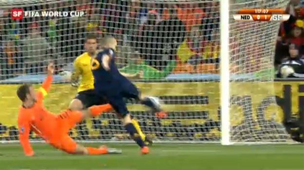 Video «Final WM 2010: Spanien - Holland» abspielen