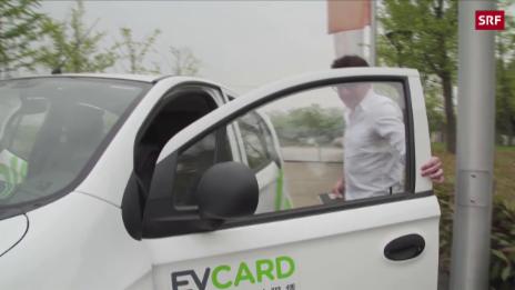 Link öffnet eine Lightbox. Video China setzt auf Elektro-Autos abspielen