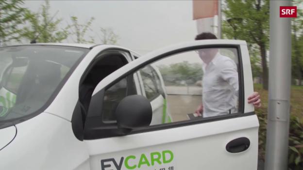 Video China setzt auf Elektro-Autos abspielen.