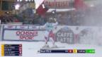 Video «Beat Feuz fährt in St. Moritz zum Heimsieg» abspielen