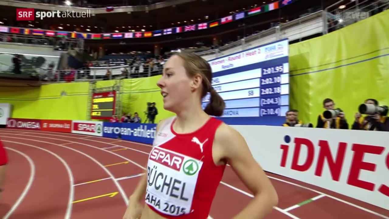 Leichtathletik: Hallen-EM in Prag