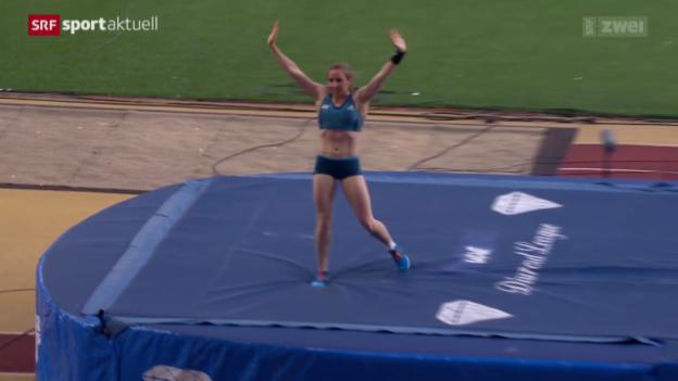 Video «Leichtathletik: Diamond League in Monaco - Frauen» abspielen