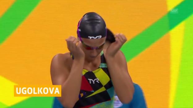 Video «Kein Rekord und «nur» Platz 2 für Ugulkova» abspielen