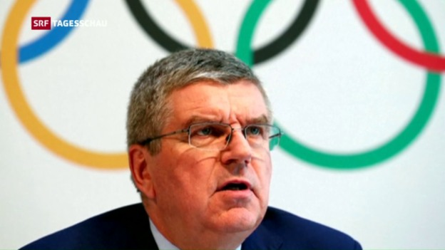 Video «IOC schliesst Russland nicht aus» abspielen