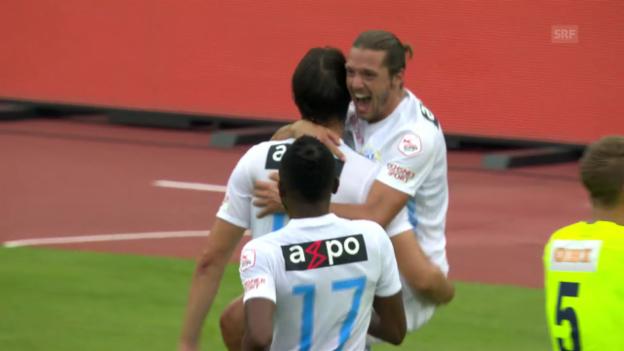 Video «Der FCZ gewinnt nach 0:1-Rückstand» abspielen