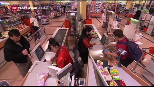 Video «Schweizer Wirtschaft erholt sich langsam» abspielen