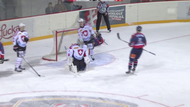 Video «Eishockey: Slovakia Cup, Slowakei-Schweiz («sportaktuell»)» abspielen