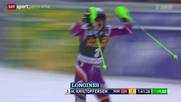 Video «Ski alpin: Weltcup Männer Slalom in Kranjska Gora/SLO» abspielen