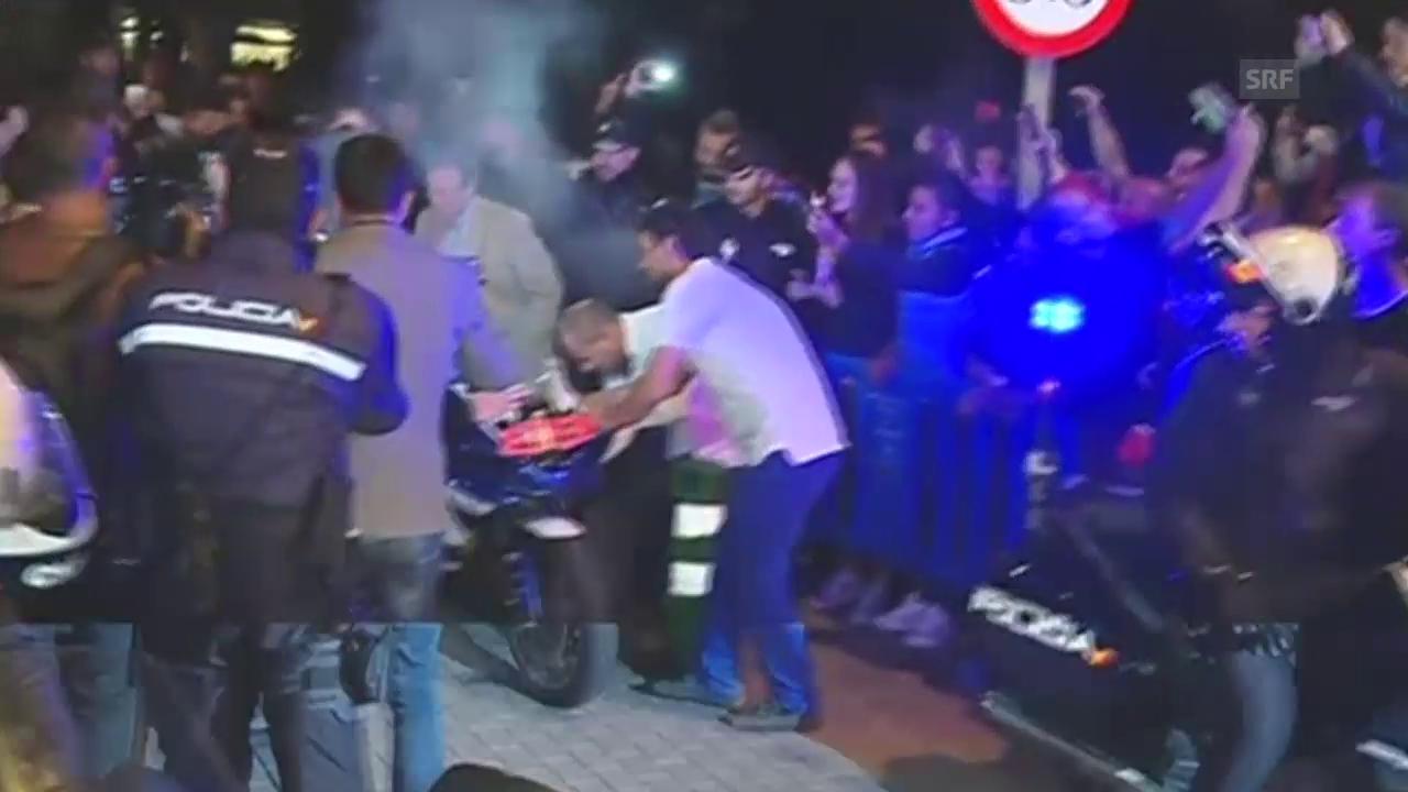 Motorrad: Heisser Zwischenfall bei Jorge Lorenzos WM-Titel-Feier auf Mallorca