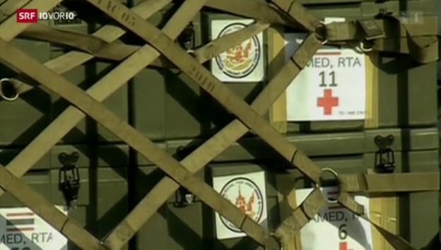 Video «FOKUS: Welle der Hilfsgüter» abspielen