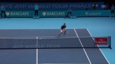 Video «Djokovics herrlicher Halbvolley» abspielen