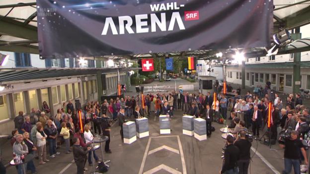 Video «Wahl-Arena: EU / Migration» abspielen