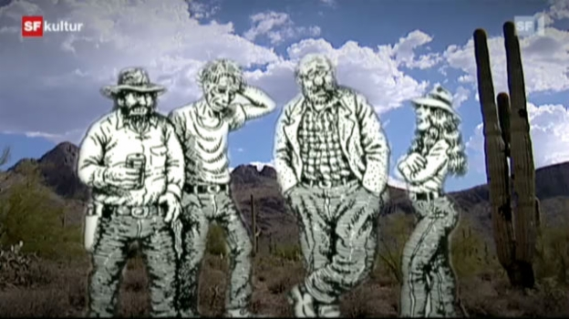 Video ««Die Monkey Wrench Gang» von Edward Abbey, illustriert von Robert Crumb» abspielen