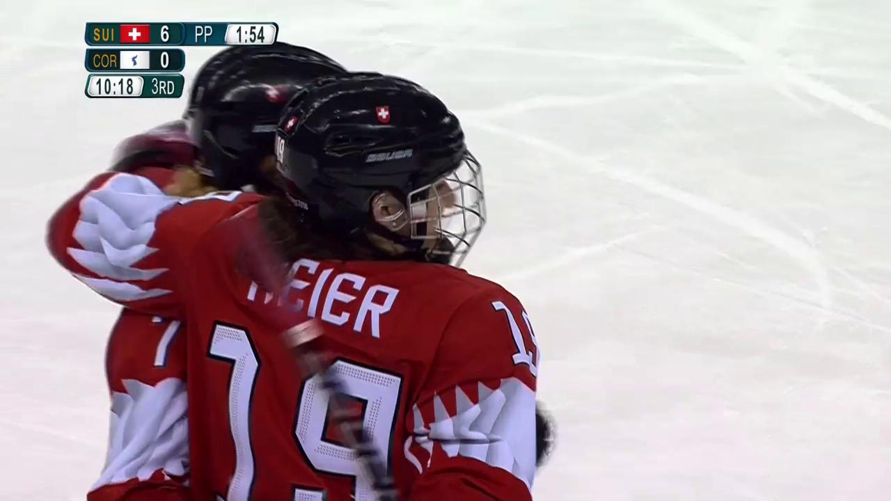 Startsieg für Schweizer Hockeyanerinnen