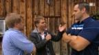 Video «Toni Brunner trifft auf einen König» abspielen