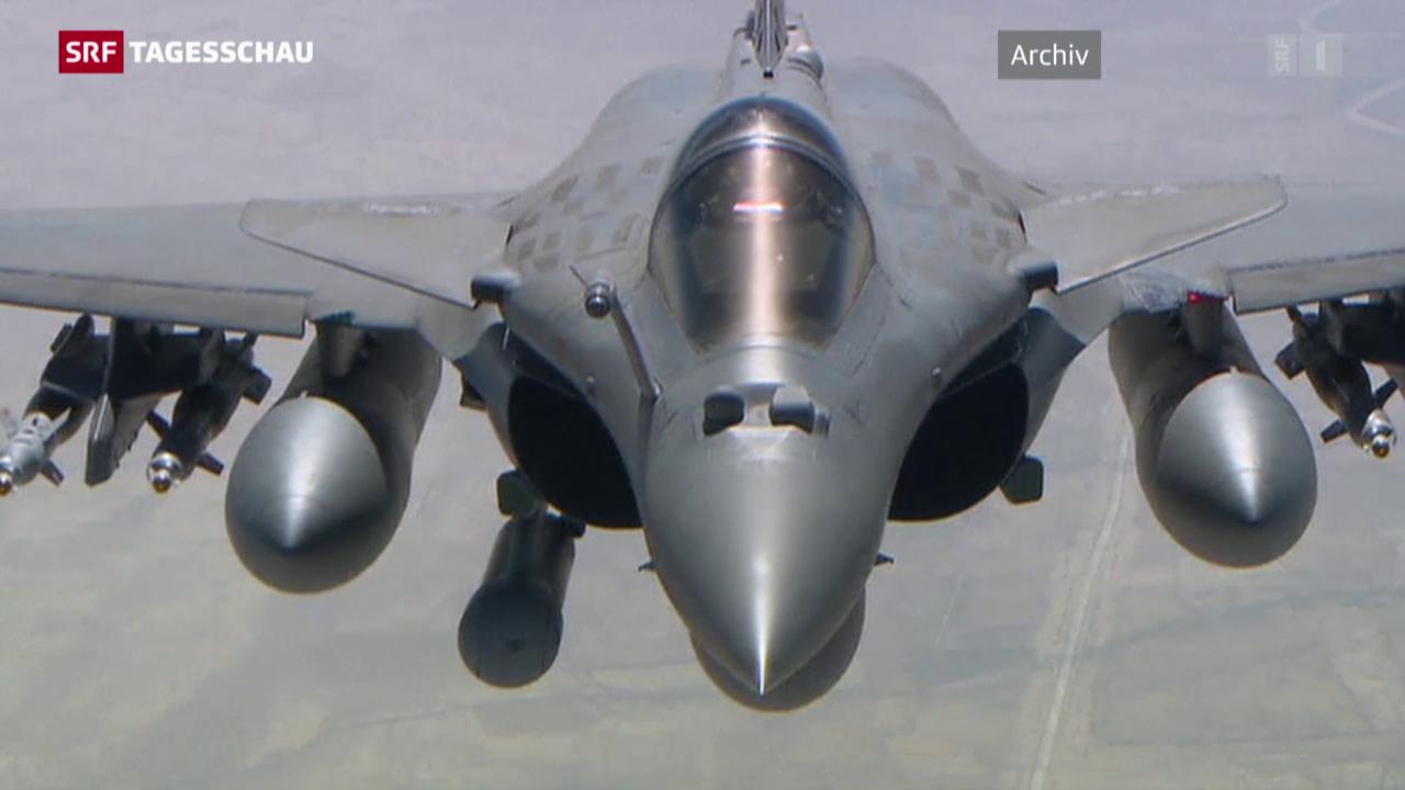 Frankreich fliegt Angriffe auf IS-Stellungen in Syrien