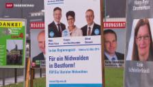 Video «Wahlen in Nidwalden: Mitte-Rechts muss Sitze abgeben» abspielen
