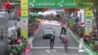 Video «Rad: Die 3. Etappe der Tour de Romandie» abspielen