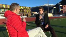 Video «Eishockey: Spengler Cup, Gespräch mit Stefan Küng, Teil II» abspielen