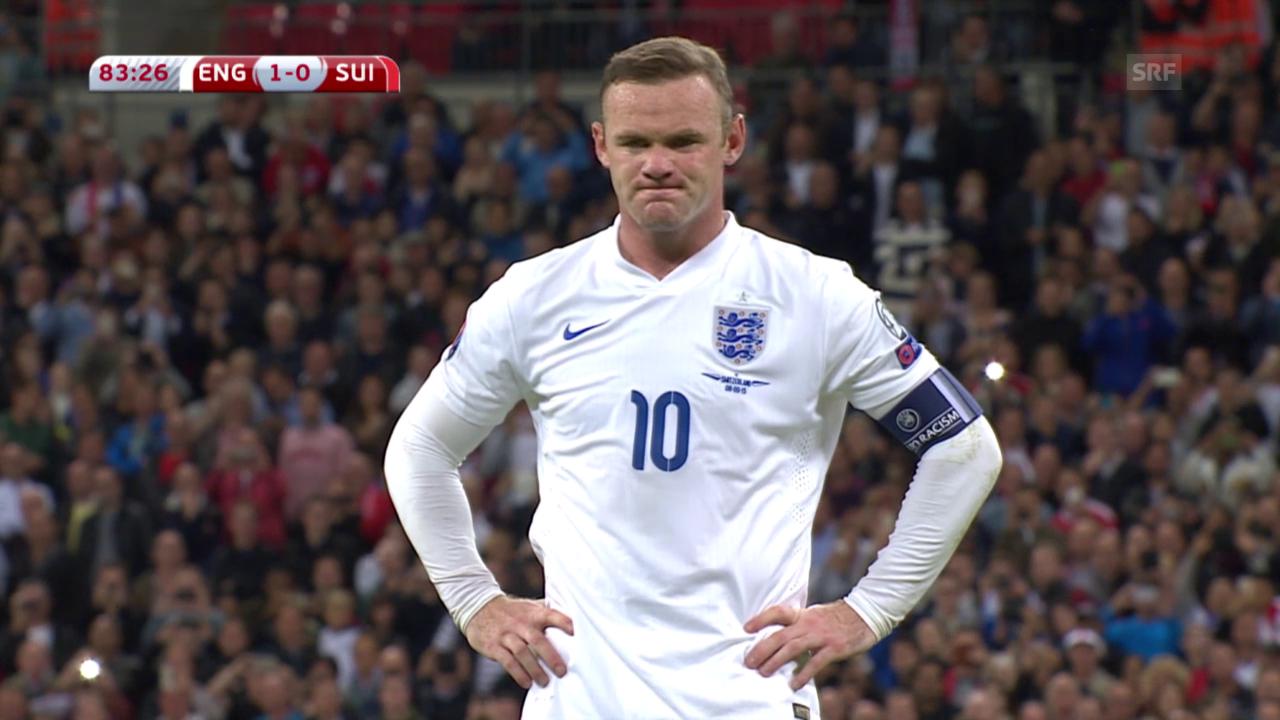 Das historische Tor von Wayne Rooney
