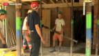 Video «Lohnkonflikt in der Schweizer Baubranche» abspielen
