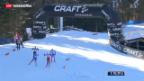 Video «Dario Cologna wird Dritter an der Tour de Ski» abspielen