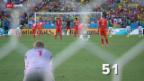 Video «Die schönsten Bilder des 18. WM-Tags» abspielen