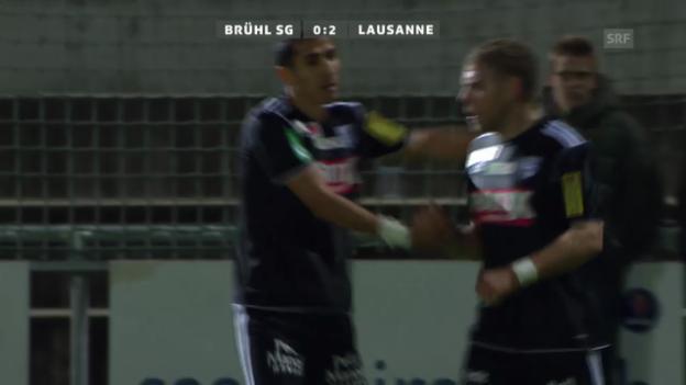 Video «Matchbericht Brühl-Lausanne («sportaktuell»)» abspielen