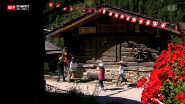 Video «Schweiz aktuell vom 01.08.2013» abspielen