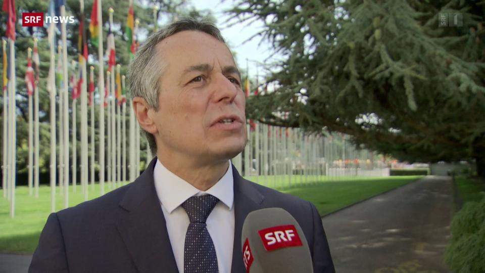 Bundesrat Ignazio Cassis zur Hilfe für Afghanistan