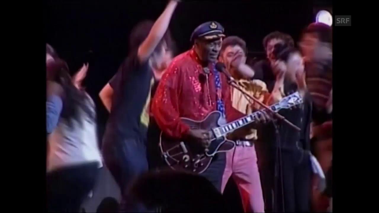 Auftritt von Chuck Berry