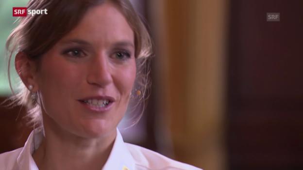Video «Simone Niggli über den Weltcup-Final» abspielen