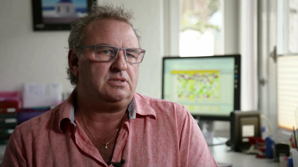 Tremor-Patient Markus Reimann: «Es nimmt einem die Lebensqualität.»