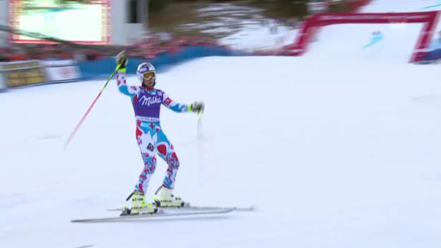 Video «Ski: RS Adelboden, 2. Lauf Pinturault» abspielen