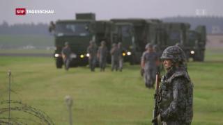Video «Nordkorea feuert Rakete über Japan ab» abspielen