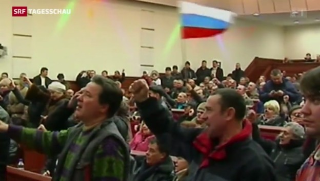 Video «Widersprüchliche Nachrichten aus der Ukraine» abspielen