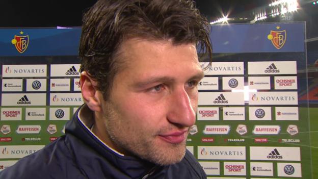 Video «Fussball: Super League, Basel - Sion, Interview mit Veroljub Salatic» abspielen