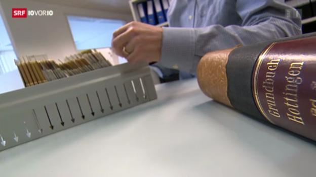 Video «Grundbuch- und Notariatsgebühren steigen, die Leistungen bleiben gleich» abspielen