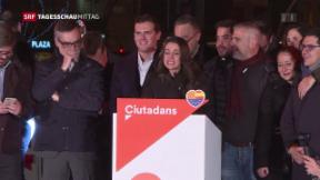 Video «Mehrheit für Separatisten bei Regionalwahlen in Katalonien» abspielen
