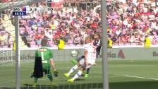 Video «Volley ins Glück: Lang trifft zum 3:0-Endstand» abspielen