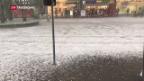 Video «Unwetter hinterlässt Schäden in Millionenhöhe» abspielen