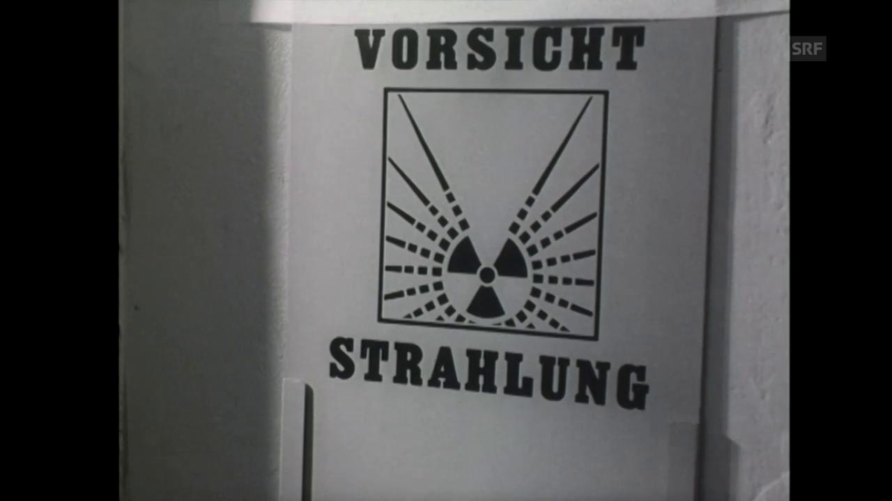 1969: Eröffnung AKW Beznau (Filmwochenschau)