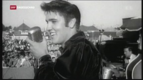 Video «Elvis-Fans pilgern zum 40.Todestag nach «Graceland»» abspielen