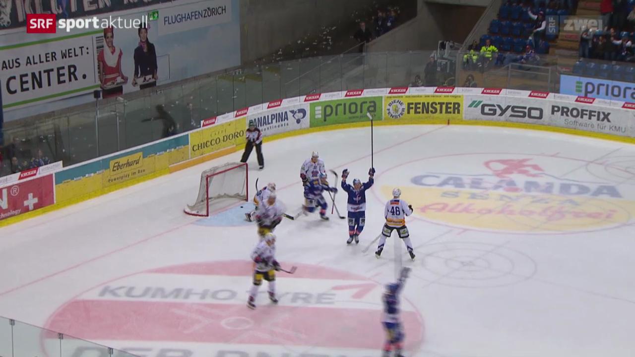 Eishockey: NLA, Kloten - Biel