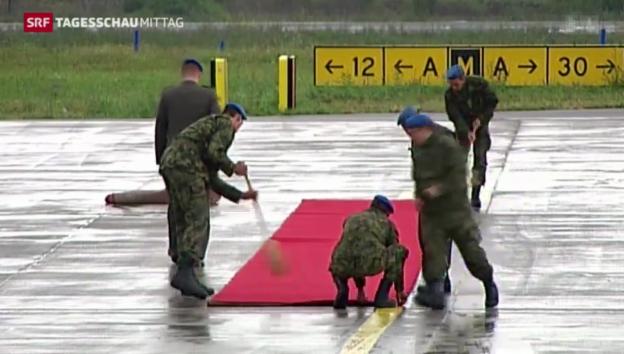 Video «Putin in Serbien» abspielen