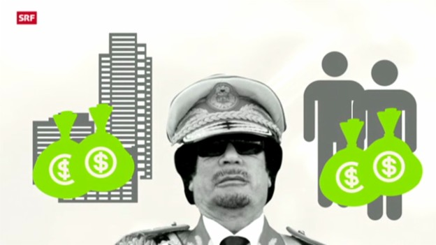 Video «Gaddafi-Gelder gehen zurück» abspielen