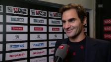 Link öffnet eine Lightbox. Video Roger Federer: «Wollte diesen Moment nicht verpassen» abspielen